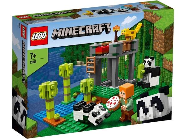 LEGO® 21158 Minecraft Der Panda-Kindergarten