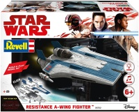 Revell 06762 Build & Play - Star Wars Resistance A-wing Fighter in blau