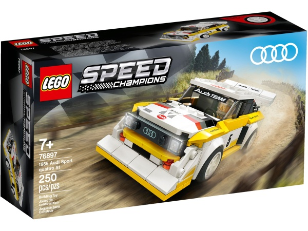 LEGO® 76897 Speed Champions 1985 Audi Sport quattro S1