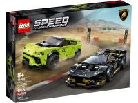 LEGO® 76899 Speed Champions Lamborghini Urus ST-X und Lamborghini Huracán Super Trofeo EVO