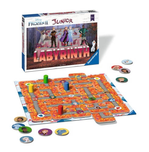 Ravensburger 20416 Frozen 2 Junior Labyrinth Kinderspiel