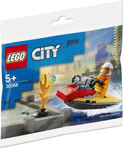 LEGO 30368 City Fire Rescue Water Scooter Polybag
