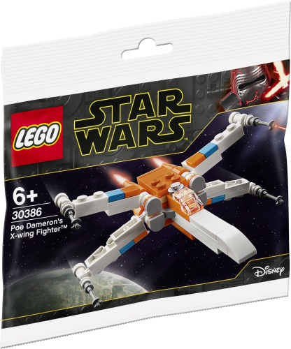 LEGO 30386 Star Wars Poe Damerons X-wing Fighter Polybag
