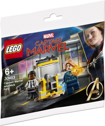 LEGO 30453 Super Heroes Captain Marvel and Nick Fury Polybag