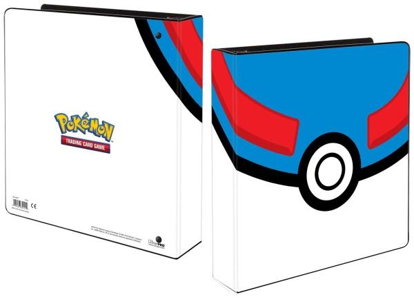 Ultra PRO Pokemon Ringbuchordner Sammelalbum Superball