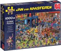Jumbo 19060 Jan van Haasteren - Rollschuh Disco 1000...
