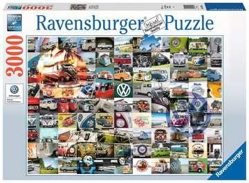 Ravensburger 160181 - 99 VW Bulli Moments 3000 Teile Puzzle