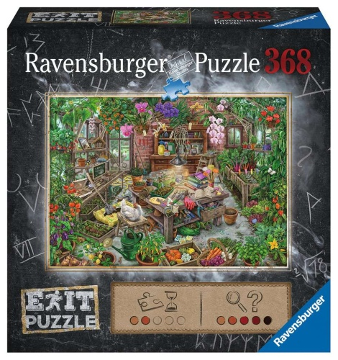 Ravensburger 16483 Im Gewächshaus 368 Teile Exit Puzzle