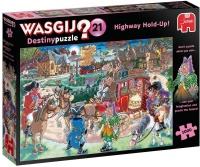 Jumbo 19180 Wasgij Destiny 21 - Überfall auf der Straße 1000 Teile Puzzle