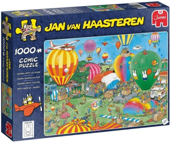 Jumbo 20024 Jan van Haasteren Hooray miffy 65 years 1000 Teile