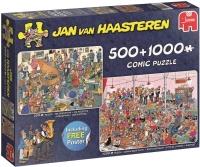 Jumbo 19058 Jan van Haasteren - Lets Party! 500 und 1000...