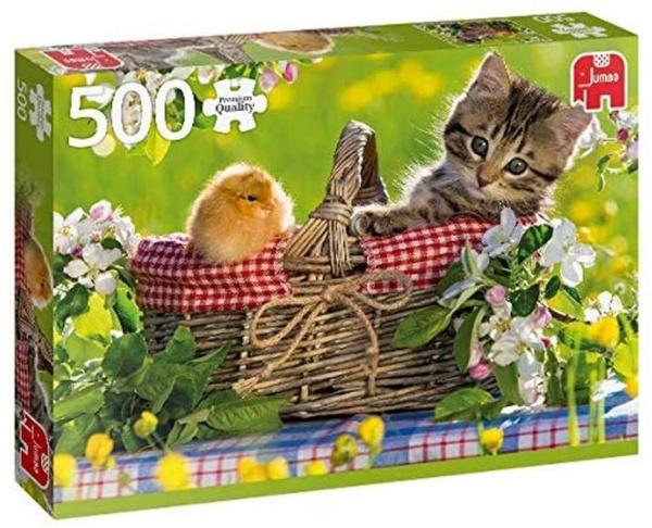 Jumbo 18801 Bereit für ein Picknick 500 Teile Puzzle