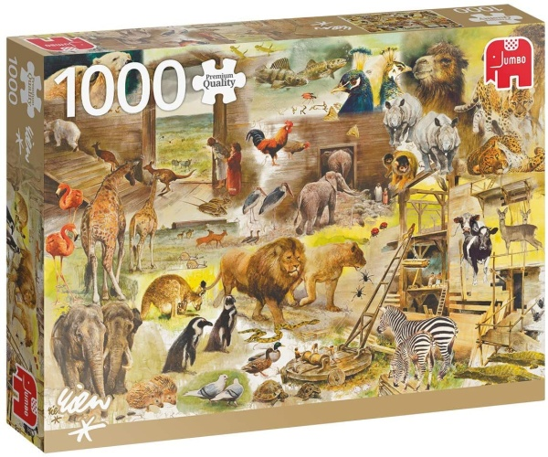 Jumbo 18854 Der Bau der Arche Noah 1000 Teile Puzzle