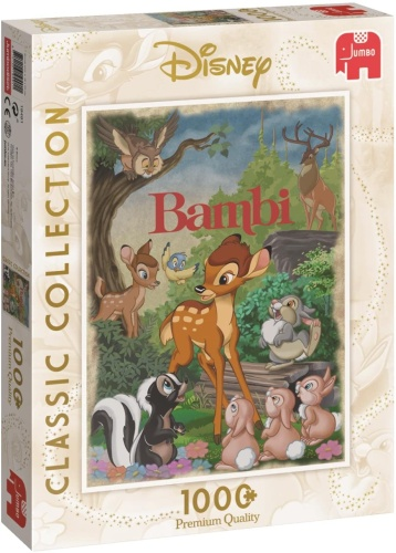 Jumbo 19491 Disney Classic Collection Bambi 1000 Teile Puzzle