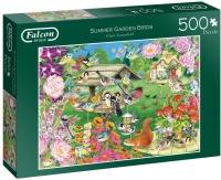 Jumbo 11253 Falcon - Summer Garden Birds 500 Teile Puzzle