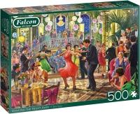 Jumbo 11291 Falcon - Dancing the Night Away 500 Teile Puzzle