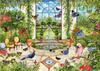 Jumbo 11255 Falcon - Butterfly Conservatory 1000 Teile Puzzle