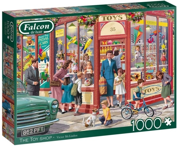 Jumbo 11284 Falcon - The Toy Shop 1000 Teile Puzzle
