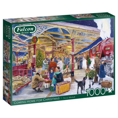 Jumbo 11266 Falcon - Coming Home for Christmas 1000 Teile Puzzle