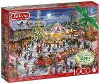 Jumbo 11308 Falcon - The Christmas Carousel 2x 1000 Teile Puzzle