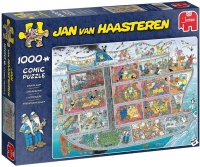Jumbo 20021 Jan van Haasteren - Kreuzfahrtschiff 1000...