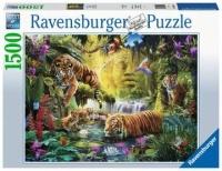 Ravensburger 16005 Idylle am Wasserloch 1500 Teile Puzzle