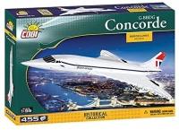 Cobi 1917 Bausatz Concorde G-BBDG 455 Teile Bausatz