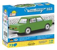 Cobi 24542 Wartburg 353 - 73 Teile Bausatz