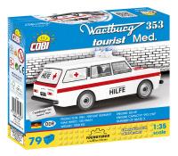 Cobi 24559 Wartburg 353 Krankenwagen 79 Teile Bausatz