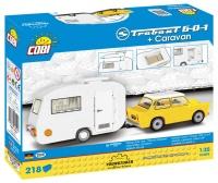 Cobi 24590 Bausatz Trabant 601 und Caravan 218 Teile Bausatz