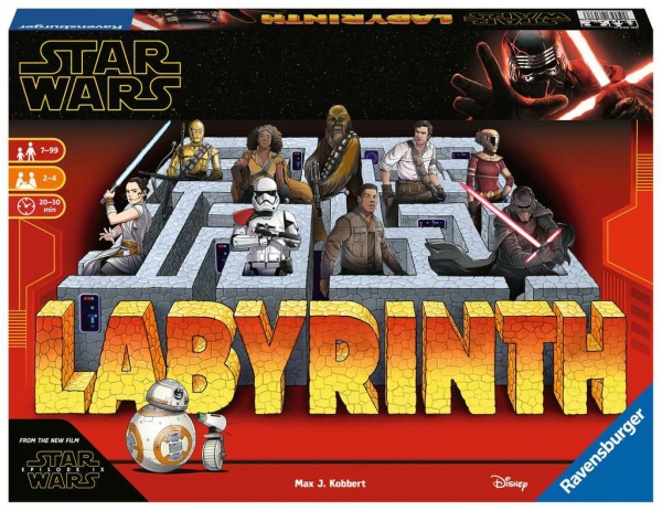 Ravensburger 26137 Star Wars 9 Das verrückte Labyrinth