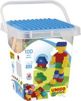 Unico 8510 Bausteine 100 Teile im Eimer