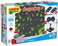 Unico 8539 Bausteine Schienen-Set 22 Teile