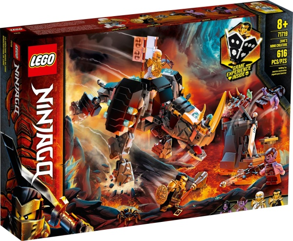 LEGO® 71719 NINJAGO Zanes Mino-Monster