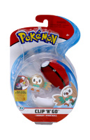 Pokemon Clip N Go Set Bauz & Pokeball