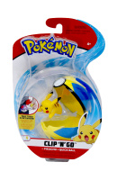 Pokemon Clip N Go Set Pikachu & Flottball