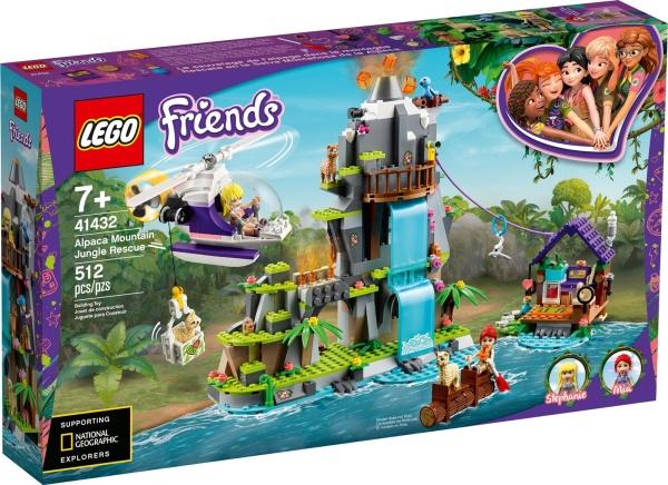 LEGO® Friends 41432 Alpaka-Rettung im Dschungel