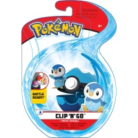 Pokemon Clip N Go Set Plinfa & Tauchball Wave 6
