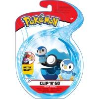 Pokemon Clip N Go Set Plinfa & Tauchball