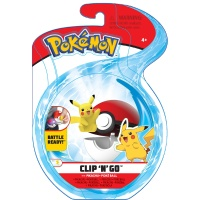 Pokemon Clip N Go Set Pikachu & Pokeball Wave 6