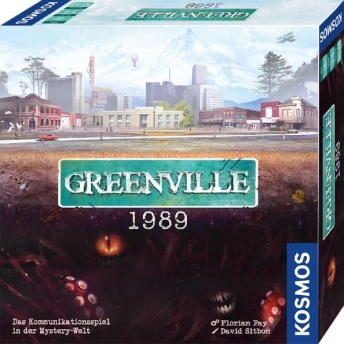 KOSMOS 68003 Greenville 1989 Das Kommunikationsspiel in der Mystery-Welt