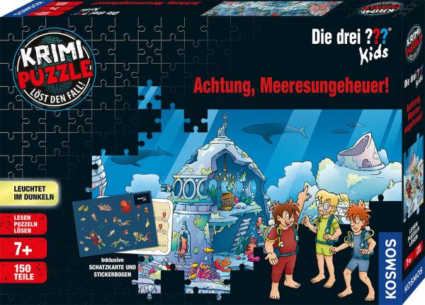 KOSMOS 68066 Krimipuzzle ??? Kids Meeresungeheuer 150 Teile Puzzle