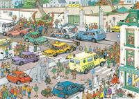 Jumbo 20028 Jan van Haasteren - Jumbo geht einkaufen 1000 Teile Puzzle