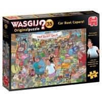 Jumbo 19184 Wasgji Original 35 - Flohmarkt-Chaos! 1000 Teile Puzzle