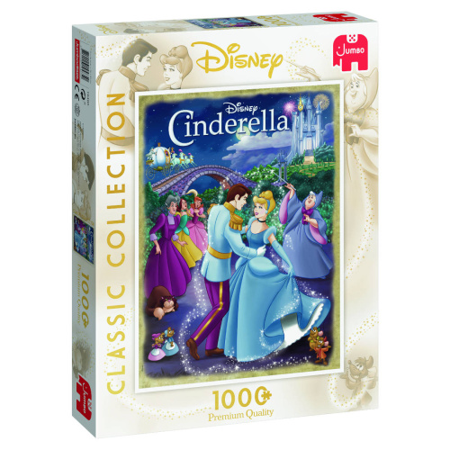 Jumbo 19485 Disney Classic Collection Cinderella 1000 Teile Puzzle