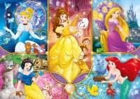 Clementoni 20140 Disney Princess 104 Teile Brilliant Puzzle