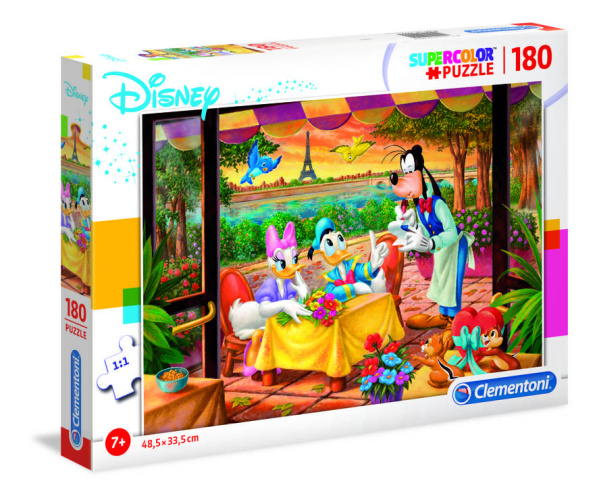 Clementoni 29296 Disney Classic 180 Teile Supercolor Puzzle