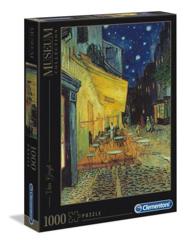 Clementoni 31470 Van Gogh Cafèterrasse bei Nacht 1000 Teile Puzzle Museum Collection