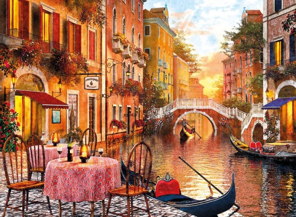 Clementoni 31668 Venedig 1500 Teile Puzzle High Quality Collection