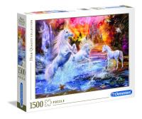 Clementoni 31805 Wilde Einhörner 1500 Teile Puzzle...
